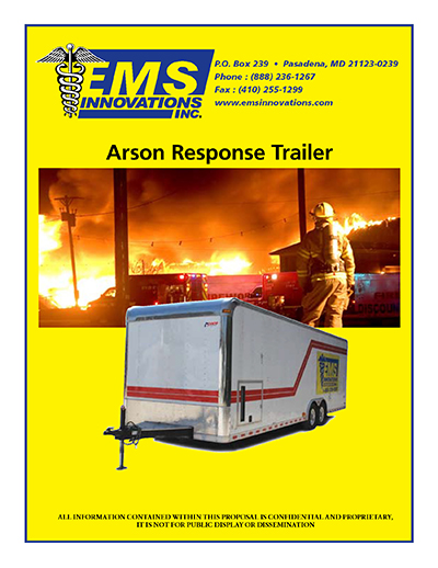 EMS Innovations Arson Trailer Page 01